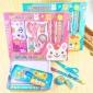 厂家直销礼盒文具套装马口铁铅笔盒文具儿童学习礼品开学礼物批发