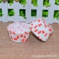 厂家直销 印花蛋糕纸杯 7cm防油蛋糕托 3.5*1.75cm巧克力纸托