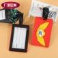 硅胶行李牌厂家定制 纪念品卡通吊牌定做 软胶行李牌生产厂家
