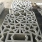 造型铝单板厂家定制 展厅会所铝格栅隔断天花 艺术造型镂空板